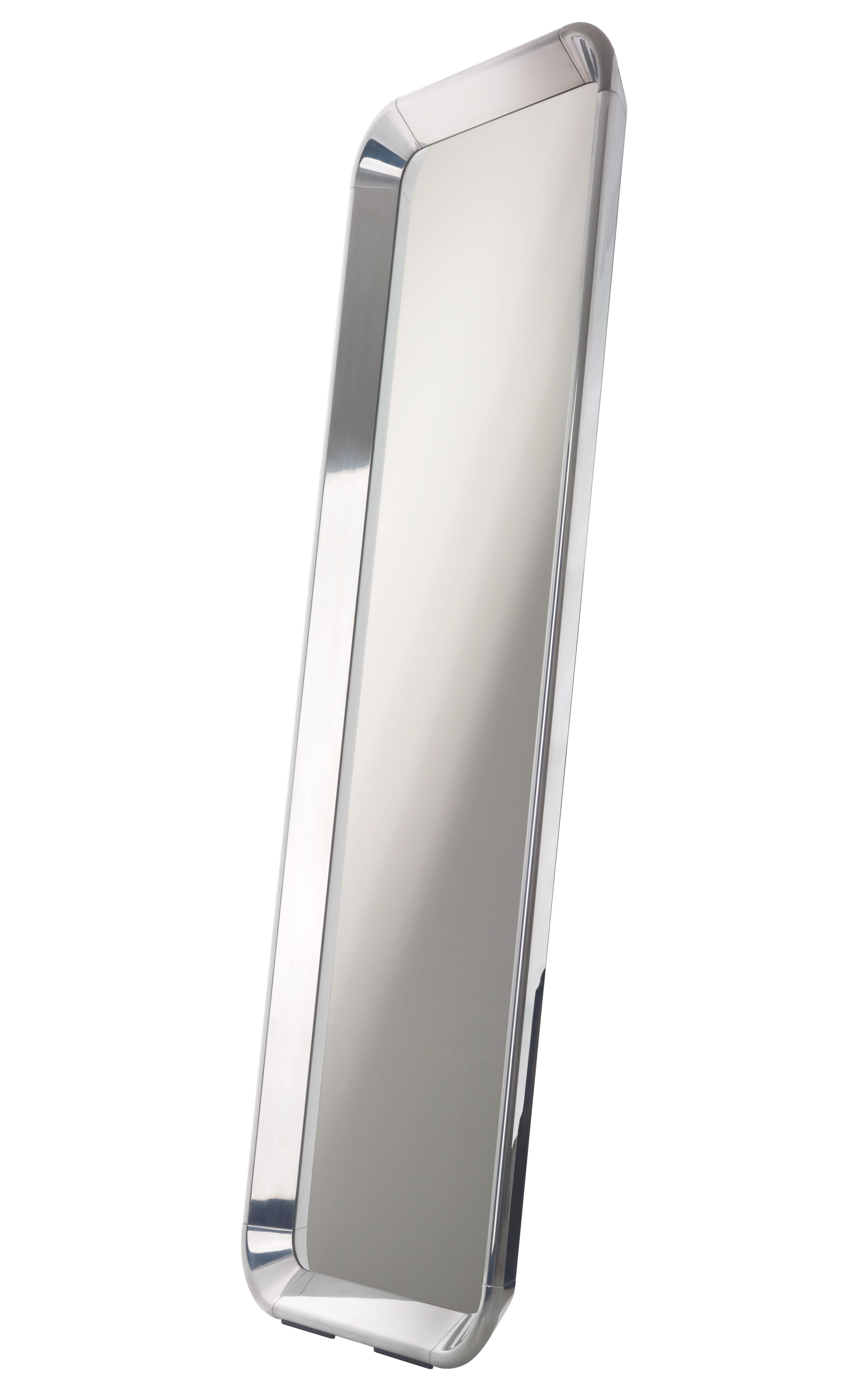 Furniture - Mirrors - Déjà-vu Mirror - L 190 x W 73 cm by Magis - Aluminium - L 190 x W 73 cm - Polished aluminium