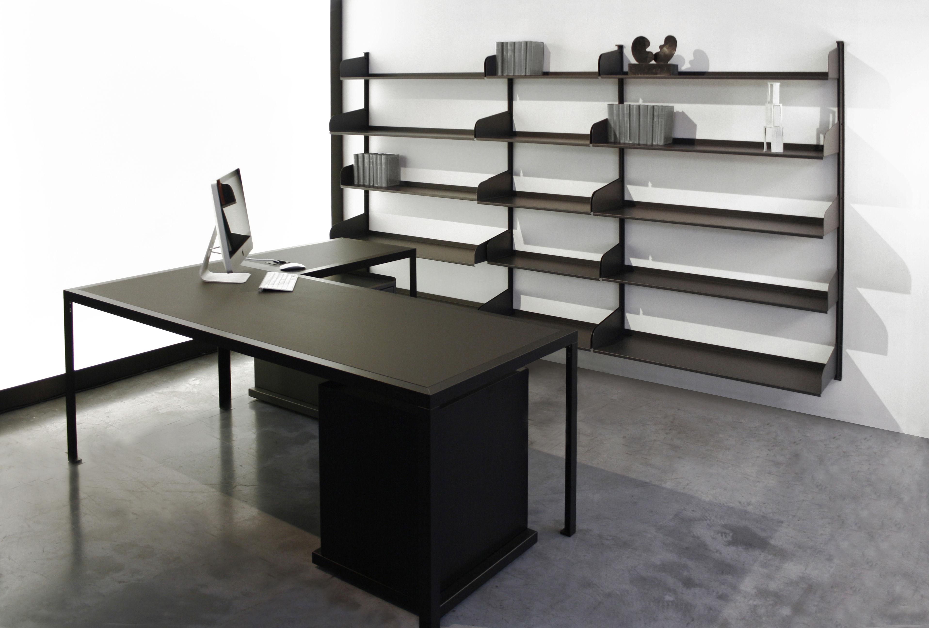 Scrivania Angolo Ufficio : Modulo zeus bianco semi opaco l 80 x l 50 x h 72 made in design