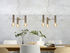 Cannes Multi Small Pendant - / 3 arms - Metal / Ø 40 cm by It's about Romi