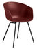 Poltrona About a chair AAC26 - / Plastica & metallo di Hay