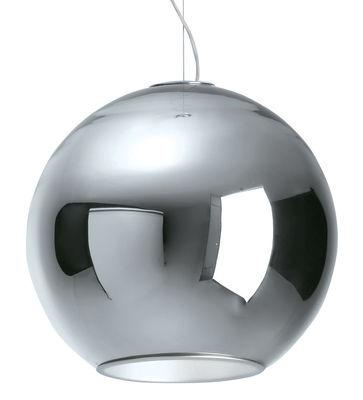 Suspension Globo di Luce - Fontana Arte chromé en métal