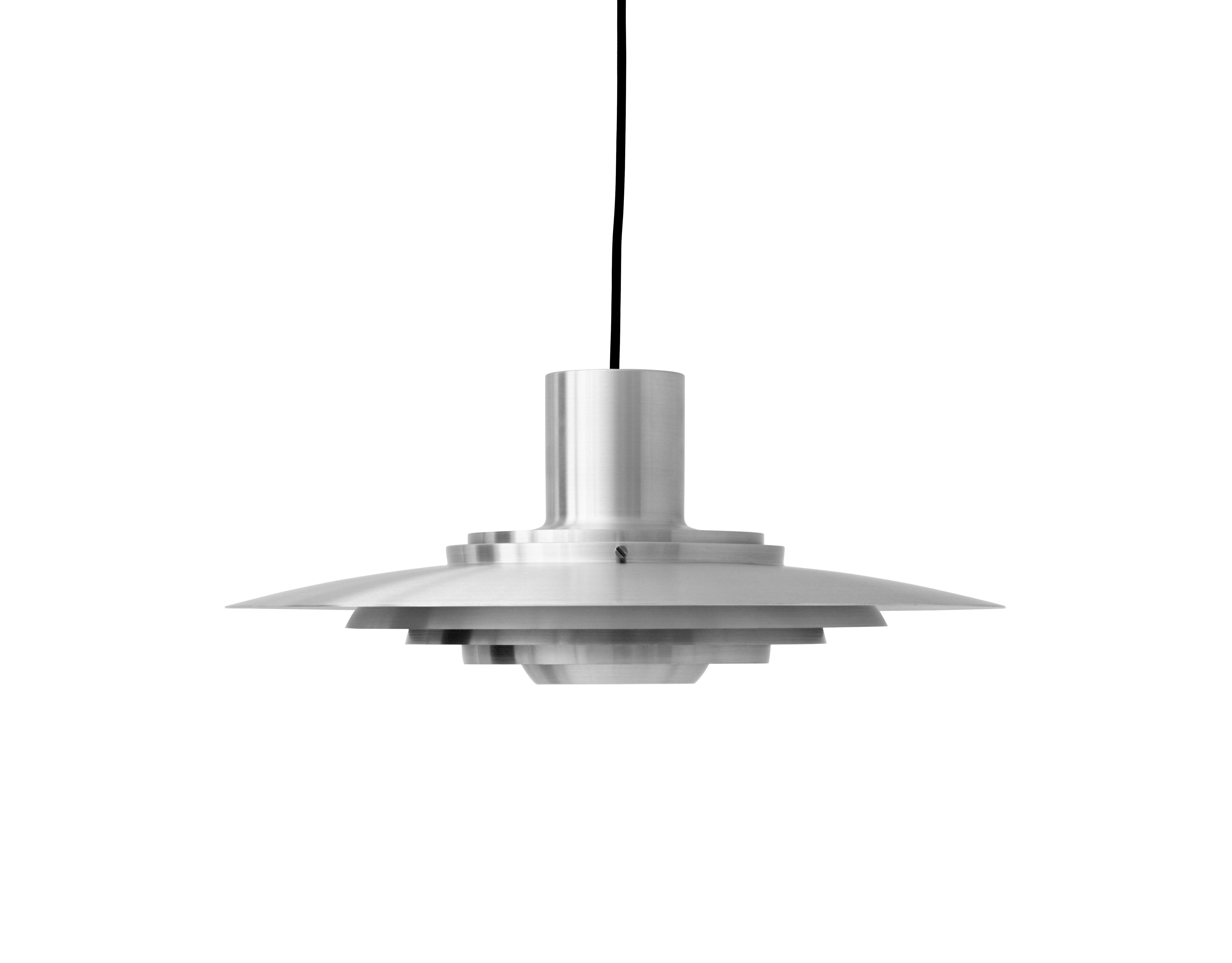 Luminaire - Suspensions - Suspension P376 KF1 / Ø 47,5 cm - Réédition 1963 - &tradition - Aluminium - Aluminium