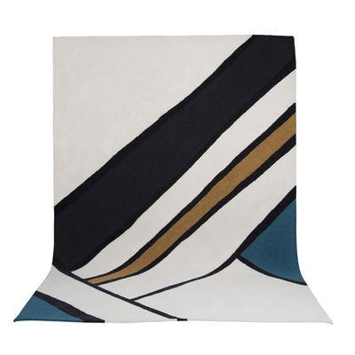 Déco - Tapis - Tapis Eclat / 200 x 300 cm - Maison Sarah Lavoine - Crème, bleu & noir - Laine