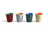 Paper Paper Wastepaper basket - / 100% recycled paper - Ø 28 x H 30.5 cm by Hay
