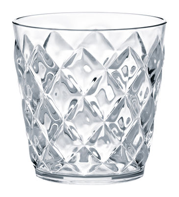 Tableware - Wine Glasses & Glassware - Crystal Whisky glass by Koziol - Tumbler 200 ml - Transparent - Plastic material