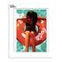 Affiche Emilie Arnoux - 029 Rubber Ring 1 / 40 x 50 cm - Image Republic