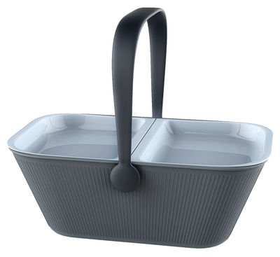 Accessories - Bags, Purses & Luggage - PetNic Basket by Alessi - Grey - Thermoplastic resin