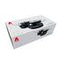 Batterie de cuisine Pots&Pans / Set 4 pièces + 2 couvercles - Tous feux dont induction - A di Alessi