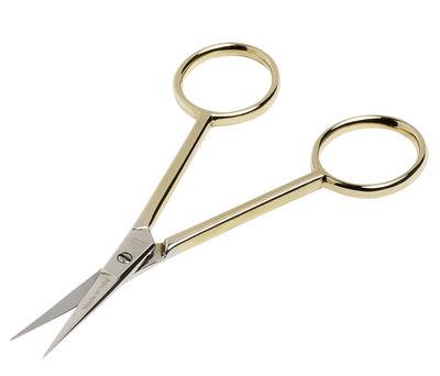 Accessoires - Accessoires bureau - Ciseaux Delicate Scissors / L 10,5 cm - Hay - Or - Acier