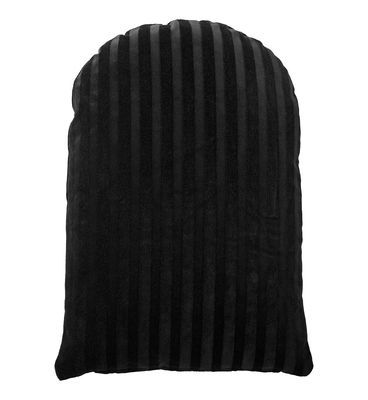 Coussin Arcus / 60 x 40 cm - Velours - AYTM noir en tissu