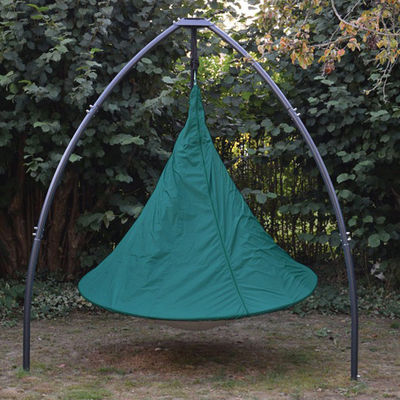 Outdoor - Ornaments & Accessories - Cover - / for Cacoon 2-person tent - Ø 180 cm by Cacoon - Green - Polyester cloth