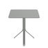 Rest'o Foldable table - / 71  x 71 cm - 2 people / Tilting top by Fermob