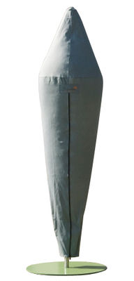 Housse de protection pour parasol Bloom - Symo gris en tissu