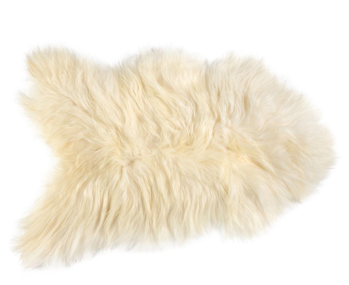 Interni - Tappeti - Pelle di pecora One Moumoute - / Pelo lungo - 50 x 100 cm di FAB design - Pelo lungo / Bianco - Pelle di montone