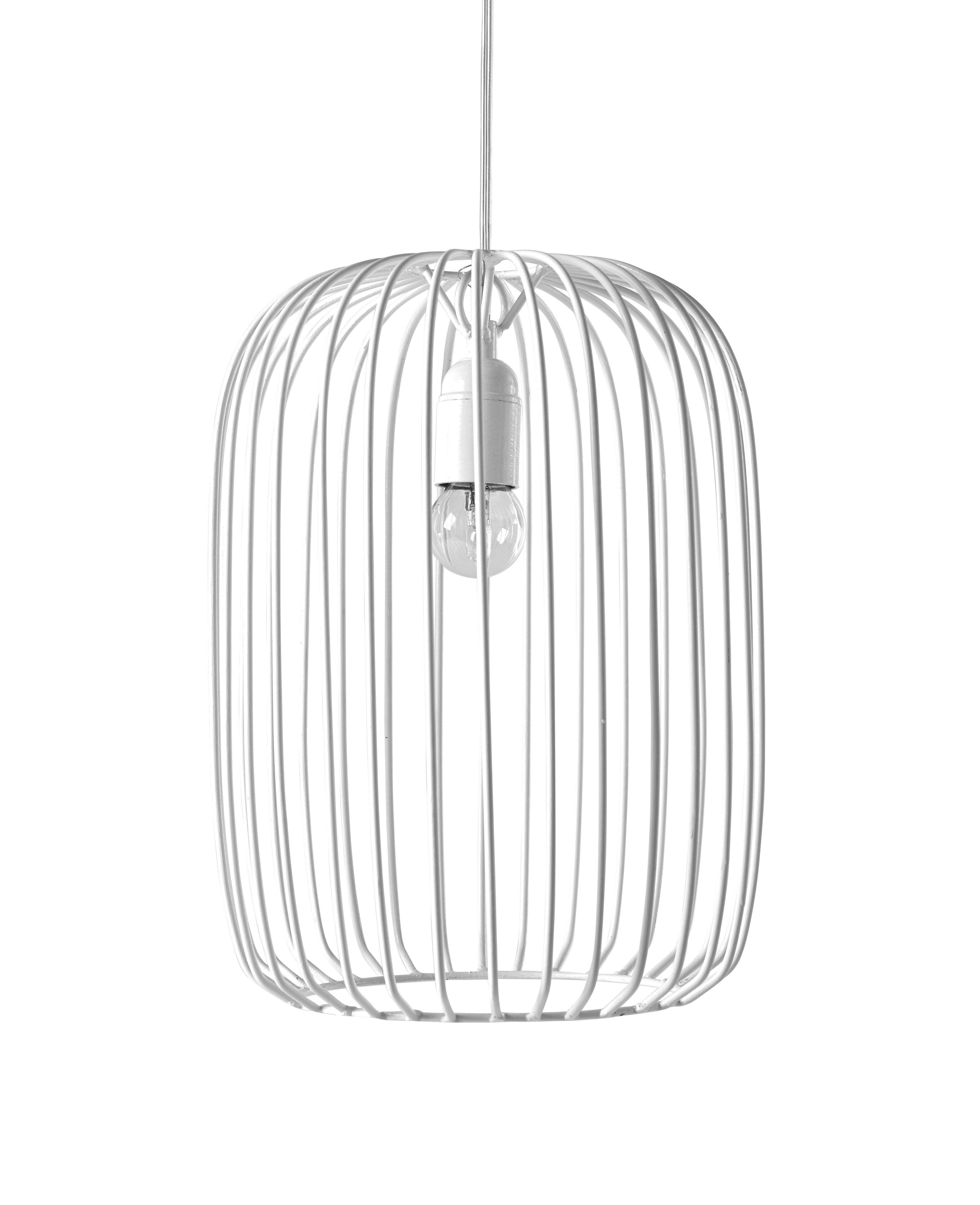Lighting - Pendant Lighting - Marella Pendant - / Metal - Ø 25 x H 34 cm by Serax - White - Metal