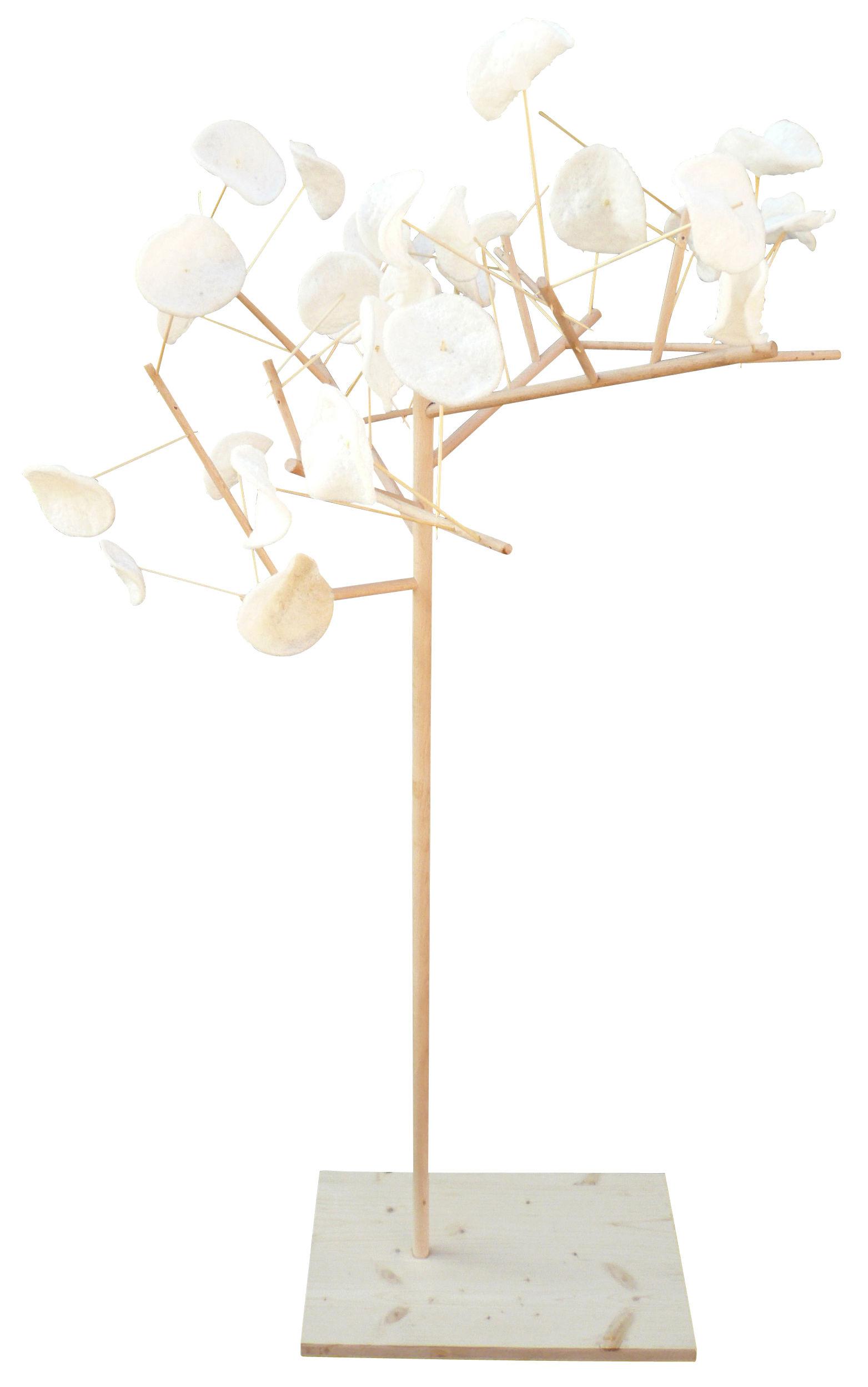 Déco - Tendance humour & décalage - Présentoir à nourriture Mangier - Arbre à manger arbre à manger - H 117 cm - Smarin - Hêtre - H 117 cm - Hêtre