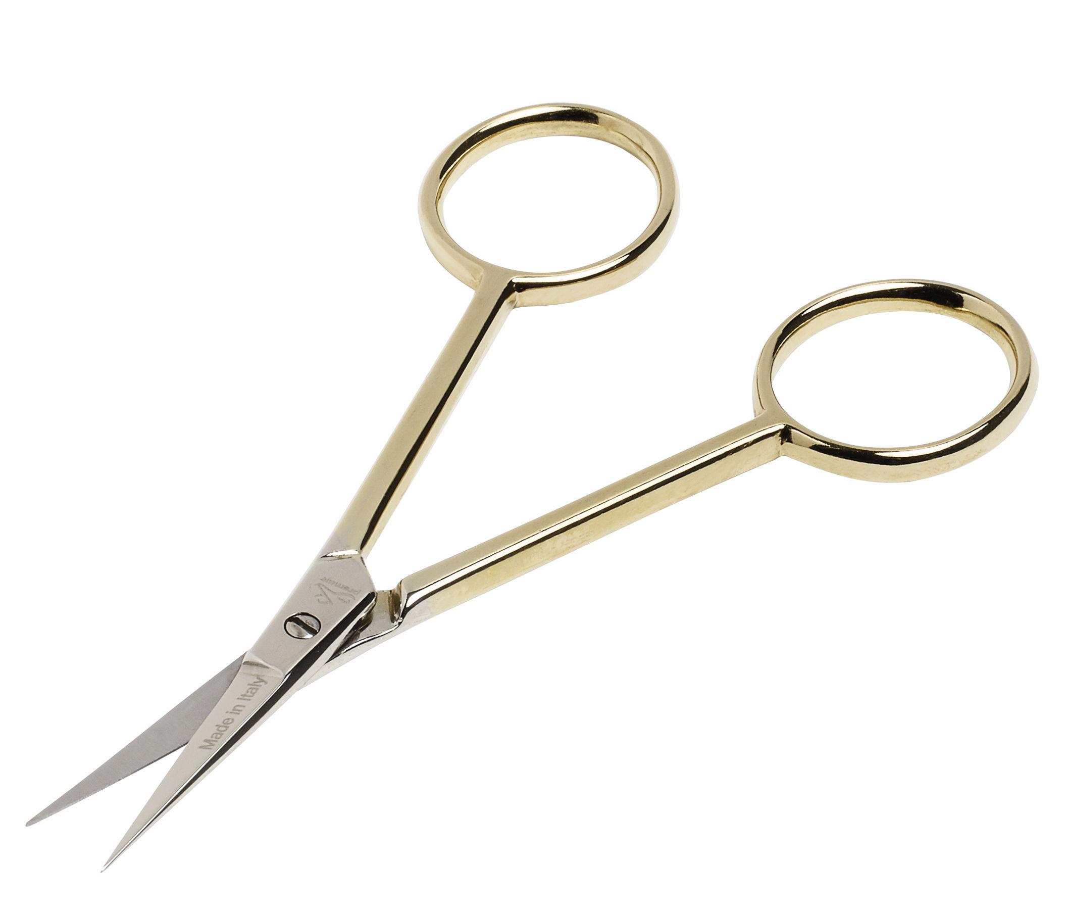 Accessories - Desk & Office Accessories - Delicate Scissors Scissors - L 10,5 cm by Hay - Gold - Steel