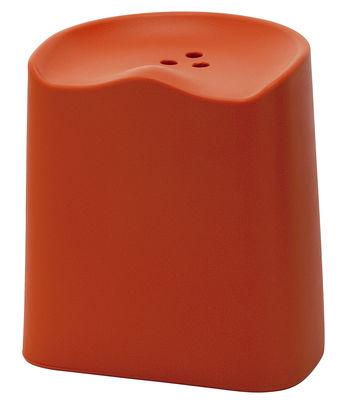 Furniture - Stools - Butt Stackable stool - H 49 cm by Established & Sons - Orange - Polypropylene