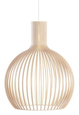 Suspension Octo / Ø 54 cm - Secto Design bouleau naturel en bois