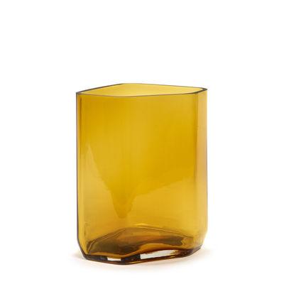 Interni - Vasi - Vaso Silex Medium - / H 27 cm di Serax - Ambra - Vetro soffiato a bocca