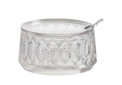 Tavola - Caffè - Zuccheriera Jellies Family - / Con cucchiaio di Kartell - Cristallo - Technopolymère thermoplastique