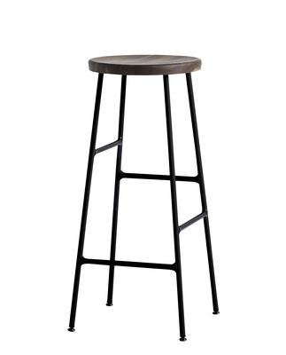 Awe Inspiring Cornet Bar Stool H 75 Cm Wood Metal By Hay Ocoug Best Dining Table And Chair Ideas Images Ocougorg