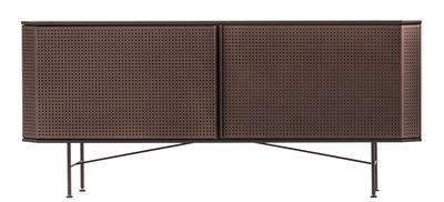 Arredamento - Contenitori, Credenze... - Buffet Perf - / L 150 cm di Diesel with Moroso - Rame / Piano nero - Acciaio verniciato