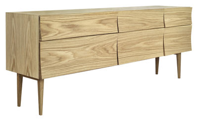 Mobilier - Commodes, buffets & armoires - Buffet Reflect Large / L 180 cm - Muuto - Chêne - Chêne
