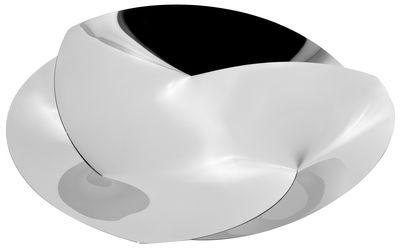Tavola - Cesti, Fruttiere e Centrotavola - Centrotavola Resonance - Ø 60 cm di Alessi - Acciaio - Acciaio inossidabile