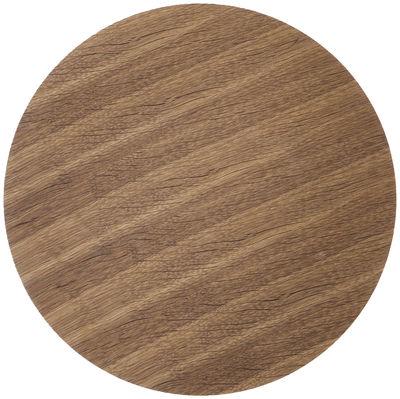 Couvercle pour corbeille Wire / Small - Ø 40 - Ferm Living bois naturel en bois