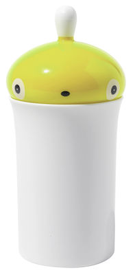 Decoration - For bathroom - Pisellino Earbud holder by A di Alessi - Green - PMMA