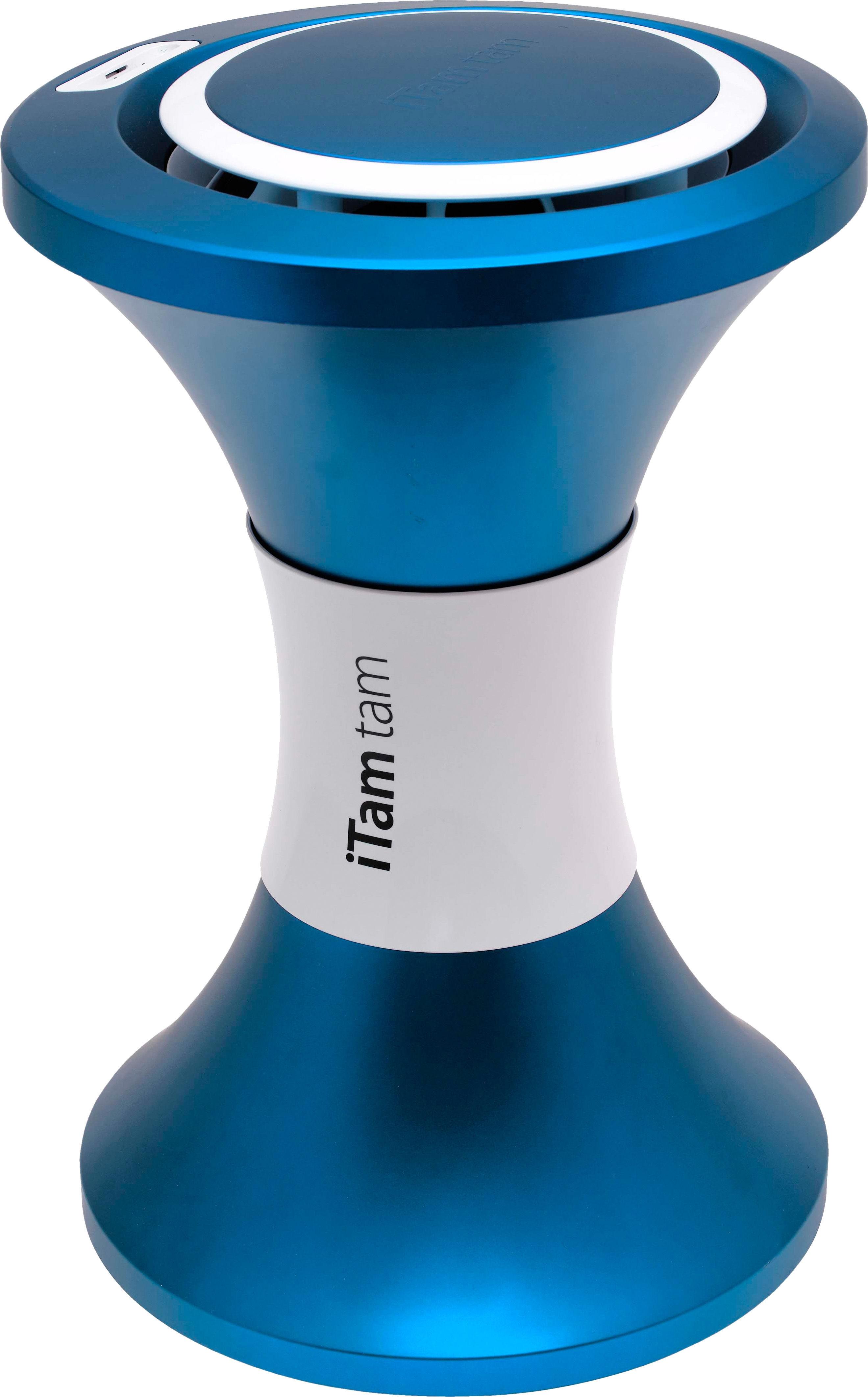 Möbel - Hocker - iTamtam Vogue M3 Ipod/ Iphone Dockingstation / kabellos - Bluetooth-Version - Stamp Edition - Blau - ABS