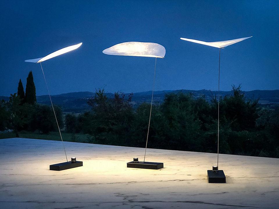 Lampe Ohne Kabel Koyoo LED Von Ingo Maurer - Weiß