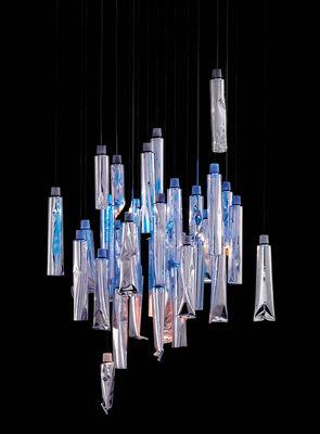 Lighting - Tu-Be I Pendant by Ingo Maurer - Aluminium - Aluminium