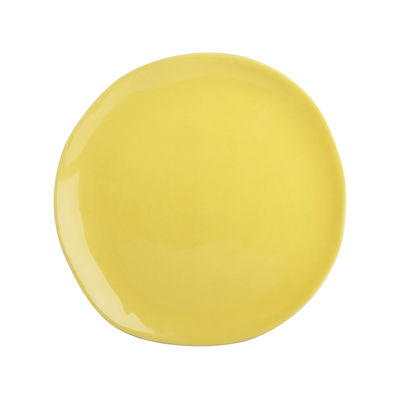 Image of Piatto - / Porcellana - Ø 22 cm di & klevering - Giallo - Ceramica