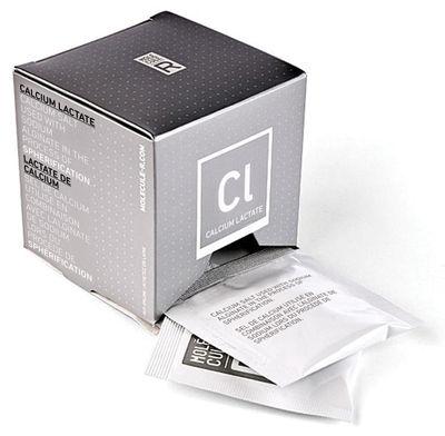 Recharge Lactate de calcium / Pour kits R-Évolution - Molécule-R blanc en papier