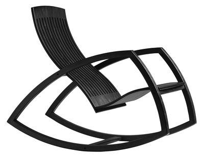 Rocking chair Gaivota - Objekto noir en bois