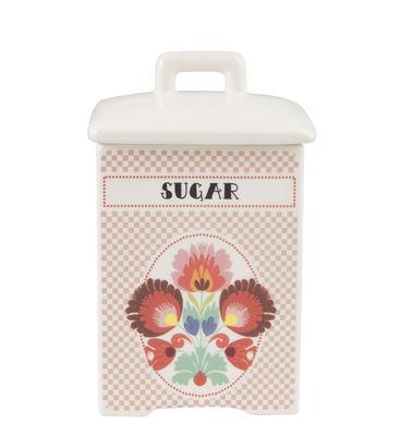 Cucina - Lattine, Pentole e Vasi - Scatola Sugar - / H 15,4 cm - Porcellana di Bitossi Home - Sugar / Multicolore - Porcellana