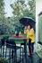 Sgabello alto Cadiz - / H 75 cm di Fermob