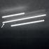 Sospensione Alphabet of light Linear - / Bluetooth - L 240 cm di Artemide
