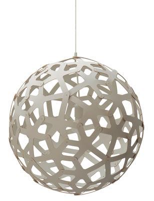 Illuminazione - Lampadari - Sospensione Coral - Ø 60 cm - Bianco - Esclusiva web di David Trubridge - Bianco - Pino