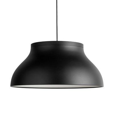 Luminaire - Suspensions - Suspension PC Large / Ø 60 cm - Aluminium - Hay - Noir - Aluminium anodisé