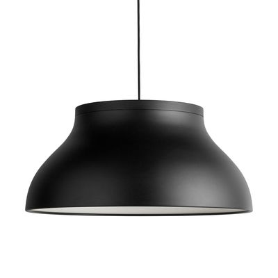 Suspension PC Large / Ø 60 cm - Aluminium - Hay noir en métal