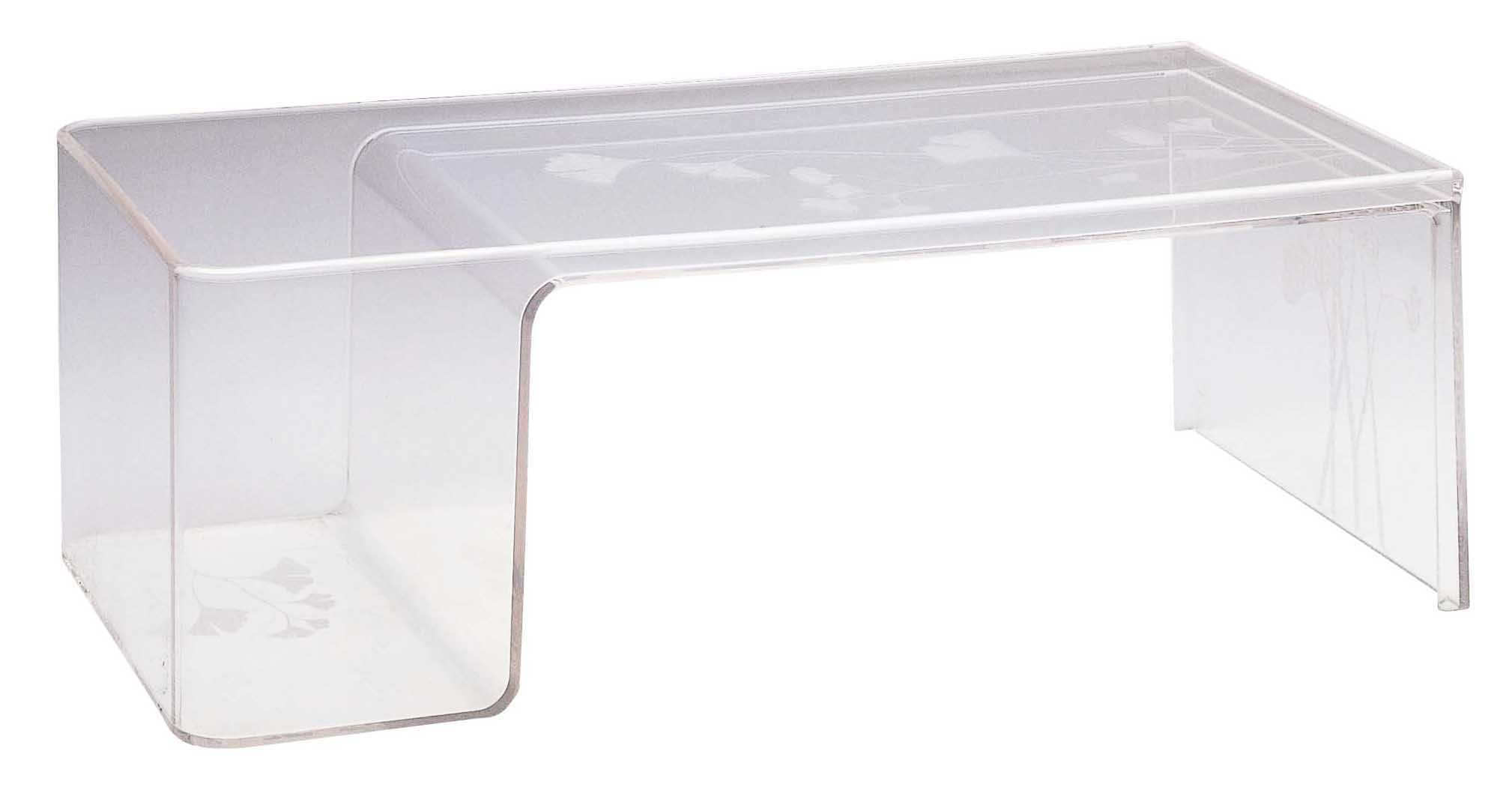 8254c7a9cea0da ... Mobilier - Tables basses - Table basse Usame - Kartell - Cristal - PMMA