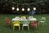 Table rectangulaire Toní Tablo / 220 x 99 cm - Trou pour parasol + bougeoir amovible - Fatboy
