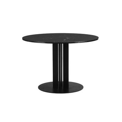 Table ronde Scala / Ø 110 cm - Marbre noir - Normann Copenhagen noir en pierre