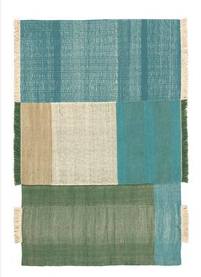 Tapis Tres / 170 x 240 cm - Nanimarquina vert en tissu