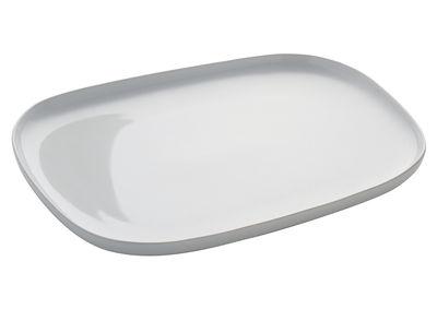 Tischkultur - Teller - Ovale Teller - Alessi - Weiß - Keramik im Steinzeugton