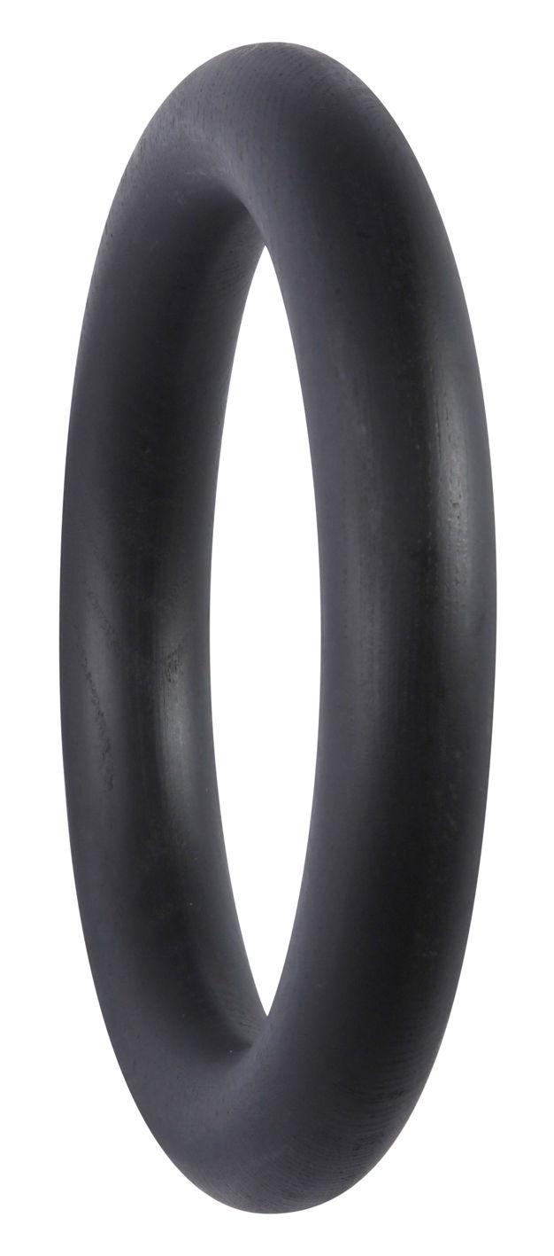 Möbel - Garderoben und Kleiderhaken - Gym Large Wandhaken - Ø 18,2 cm - Hay - Schwarz - Esche
