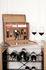 Oeno-Curiosités Weinbox / 9 Teile - Box aus Nussbaum - L'Atelier du Vin